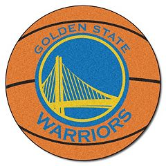 FANMATS Golden State Warriors Basketball Rug by