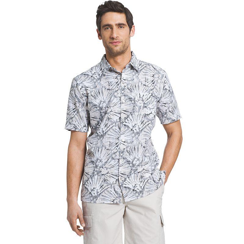Men's Van Heusen Polynesian Casual Button-Down Shirt
