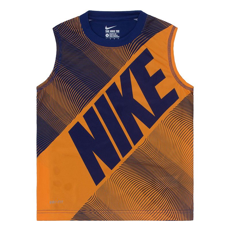 Boys 4-7 Nike Dri-FIT Sublimated