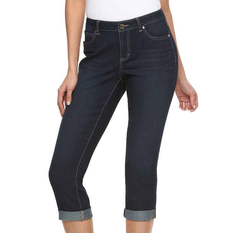 Women's Jennifer Lopez Curvy Fit Capri Jeans
