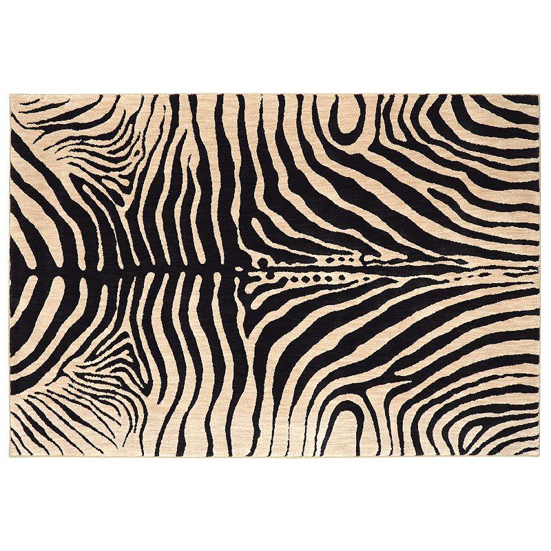 American Rug Craftsmen Davenport Waitsfield Zebra Print Rug