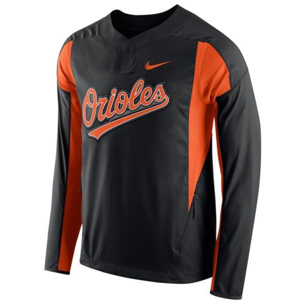 Men's Nike Baltimore Orioles Windbreaker Pullover