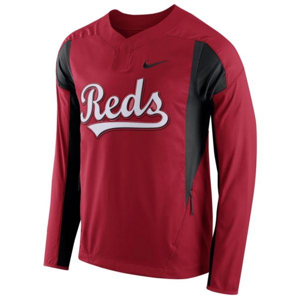 Men's Nike Cincinnati Reds Windbreaker Pullover