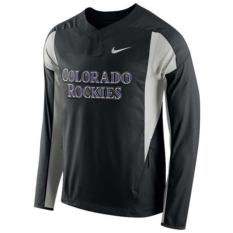Men's Nike Colorado Rockies Windbreaker Pullover