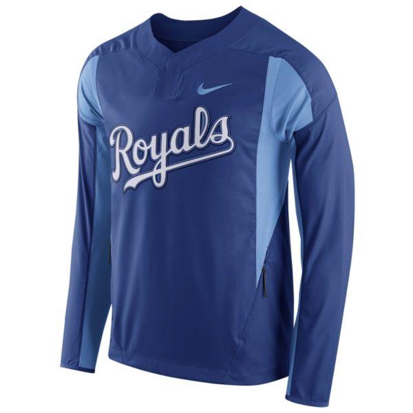 Men's Nike Kansas City Royals Windbreaker Pullover