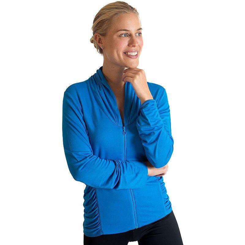 Plus Size Be Up Celebration Yoga Jacket