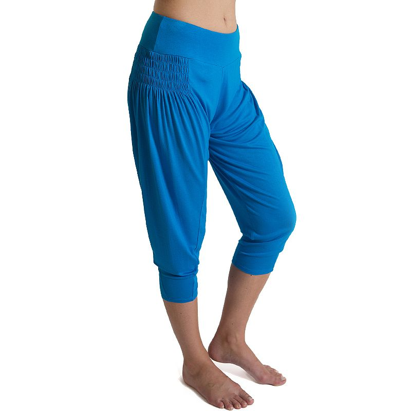 Plus Size Be Up Playful Capri Harem Pants