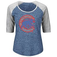 Plus Size Majestic Chicago Cubs Ace Tee