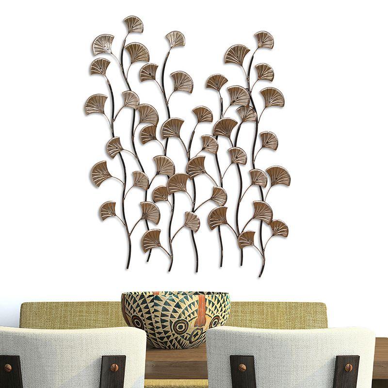 Stratton Home Decor Ocean Blossoms Metal Wall Decor