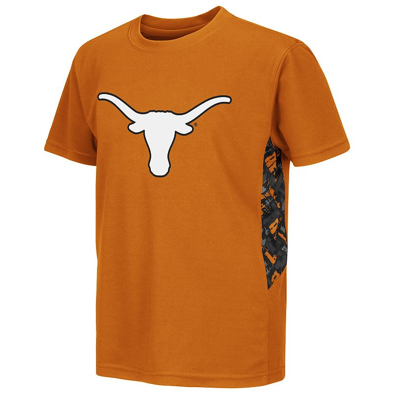 Boys 8-20 Campus Heritage Texas Longhorns Cutter Synthetic Tee