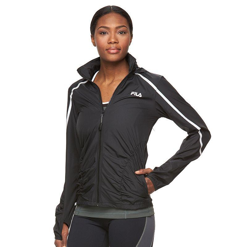 Women's FILA SPORT® Shirred Oasis Hooded Jacket