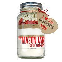The Mason Jar Cookie Company 20.2-oz. I Love You Mason Jar Cookie Mix