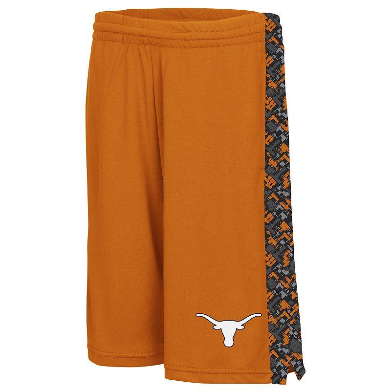 Boys 8-20 Campus Heritage Texas Longhorns Mustang III Shorts