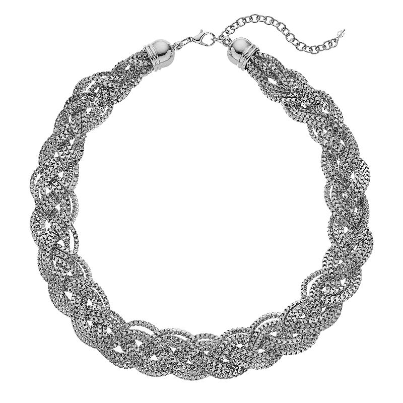 Apt. 9® Chunky Braided Mesh Chain Necklace