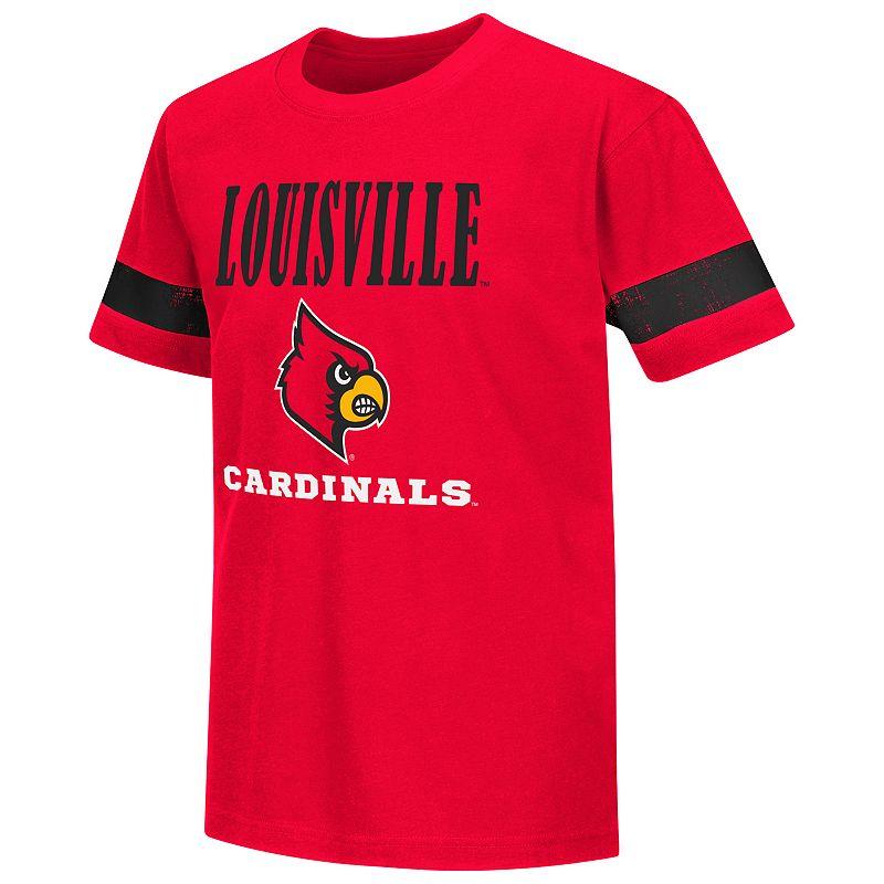 Boys 8-20 Campus Heritage Louisville Cardinals Iron Tee