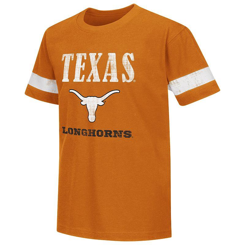 Boys 8-20 Campus Heritage Texas Longhorns Iron Tee