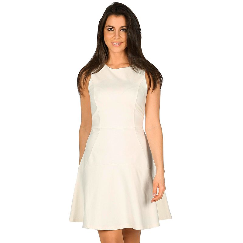 Women's Harve Benard Ponte Fit & Flare Dress