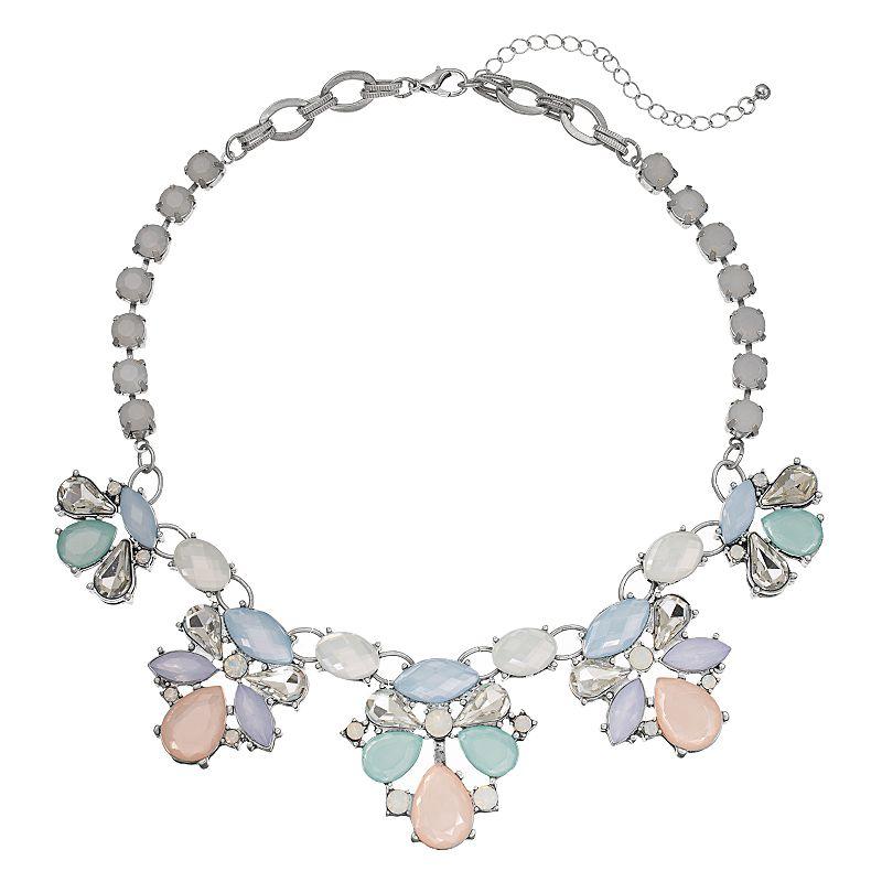 C.O. & Co. Teardrop Charm Multistrand Necklace