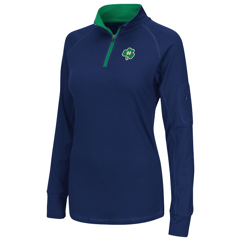 Women's Campus Heritage Notre Dame Fighting Irish Prime 1/4-Zip Pullover