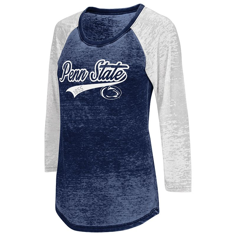 Juniors' Campus Heritage Penn State Nittany Lions Ace Raglan Tee