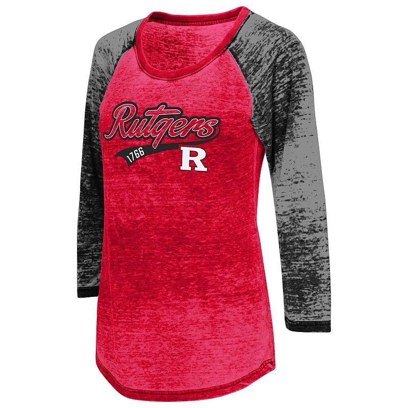 Juniors' Campus Heritage Rutgers Scarlet Knights Ace Raglan Tee
