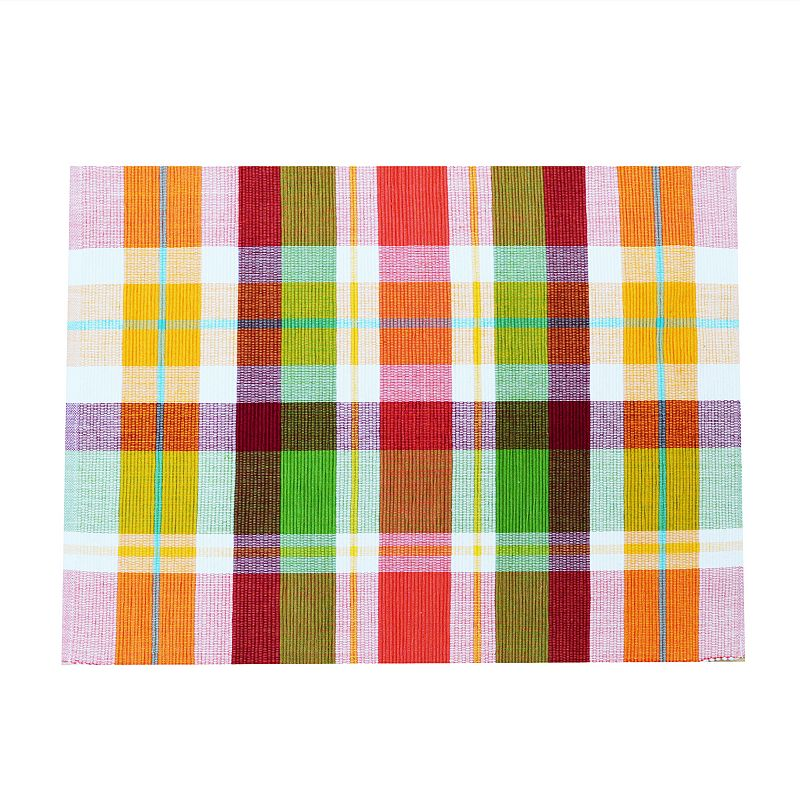 Celebrate Fall Together Plaid Placemat