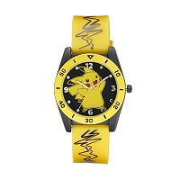 Pokémon Pikachu Kids' Light-Up Watch