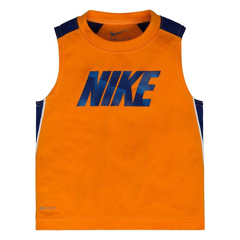 Toddler Boy Nike Dri-FIT Orange