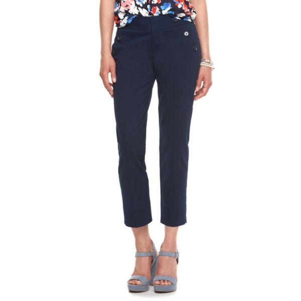 Women's ELLE™ Sailor Ankle Pants