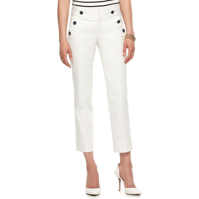 Women's ELLE™ Sailor Ankle Pants