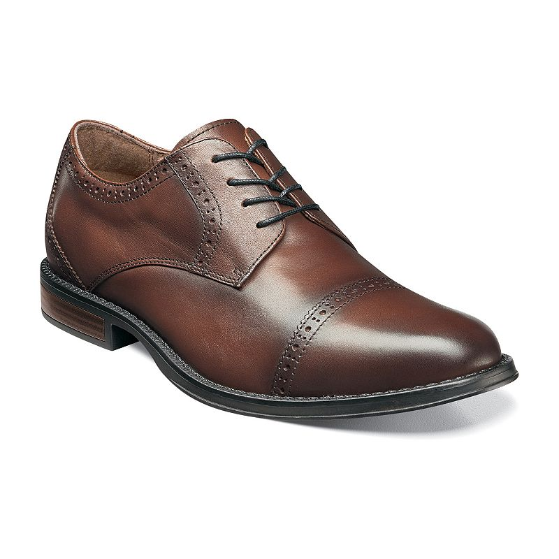 Nunn Bush Ridley Men's Cap-Toe Oxford Dress Shoes