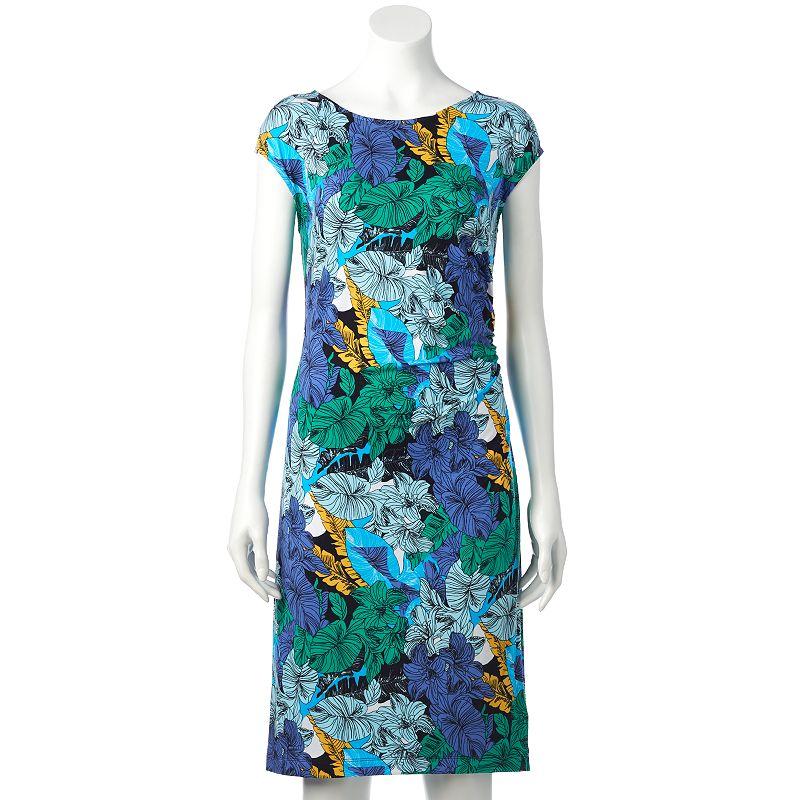 Women's Dana Buchman Ruched Sheath Dress