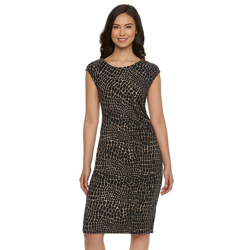 Women's Dana Buchman Ruched Sheath Dress