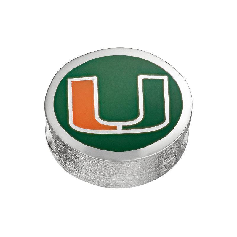 FioraSterling Silver Miami Hurricanes Bead
