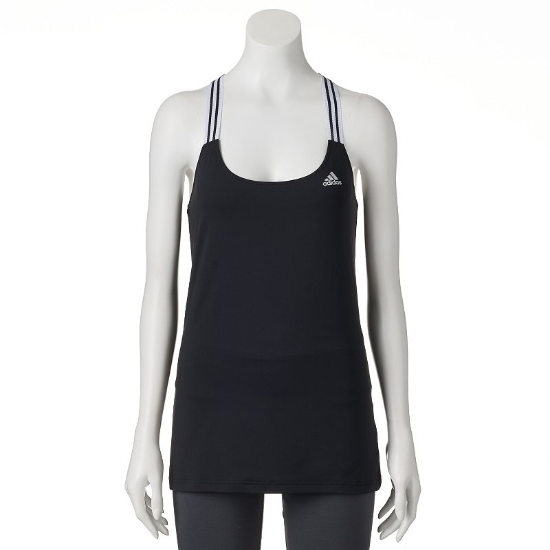 Women's adidas climalite 3-Stripes Performer Workout Tank