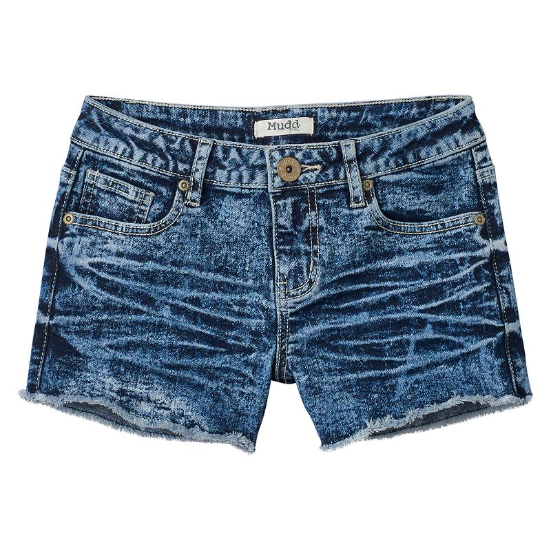 Girls 7-16 & Plus Size Mudd® Ripped Shorts