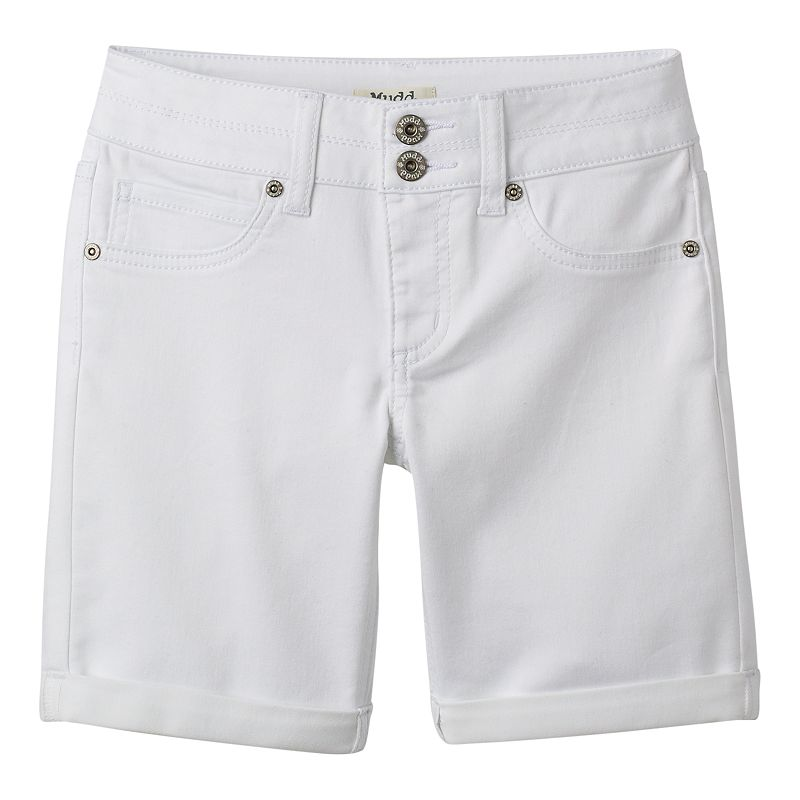 Girls 7-16 & Plus Size Mudd® Bermuda Shorts