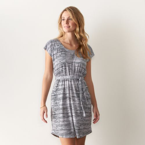 Women's SONOMA Goods for Life™ Print Fit & Flare Dress