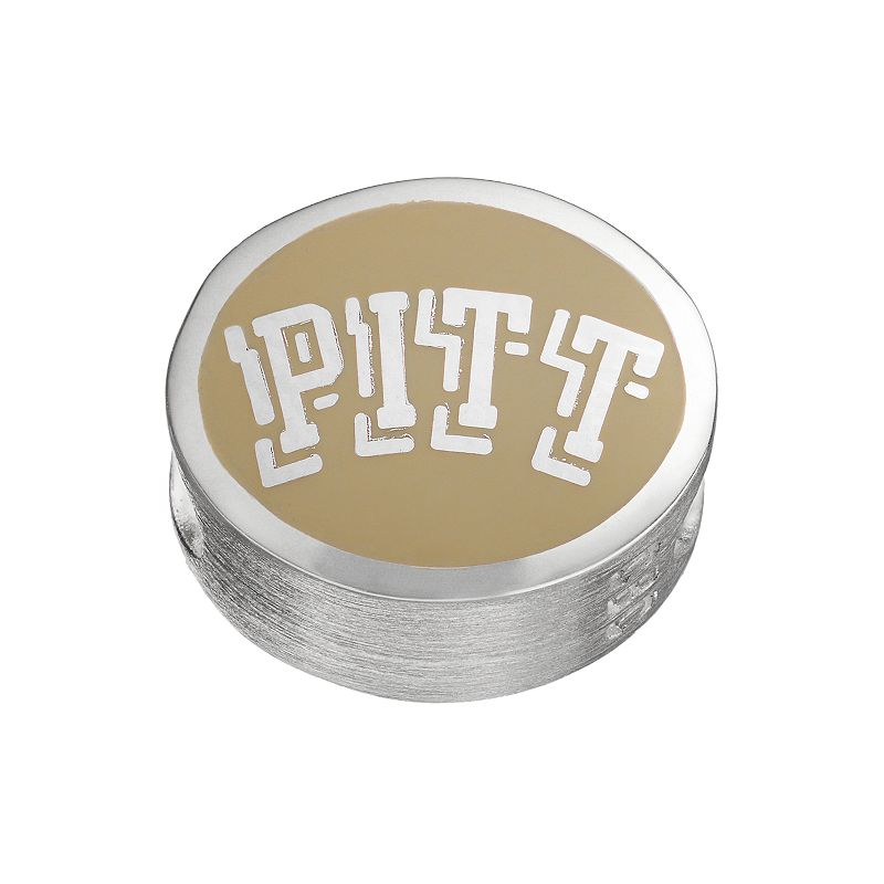 FioraSterling Silver Pittsburgh Panthers Bead