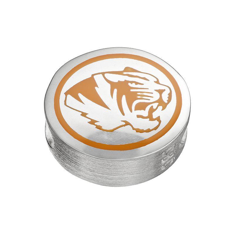 FioraSterling Silver Missouri Tigers Bead