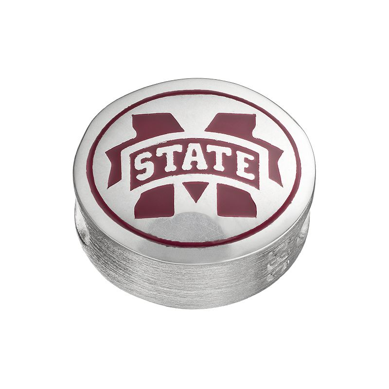 FioraSterling Silver Mississippi State Bulldogs Bead