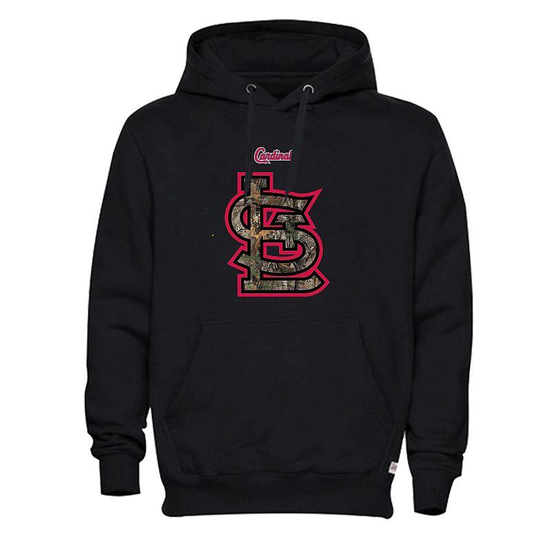 Men's St. Louis Cardinals Realtree Logo Hoodie