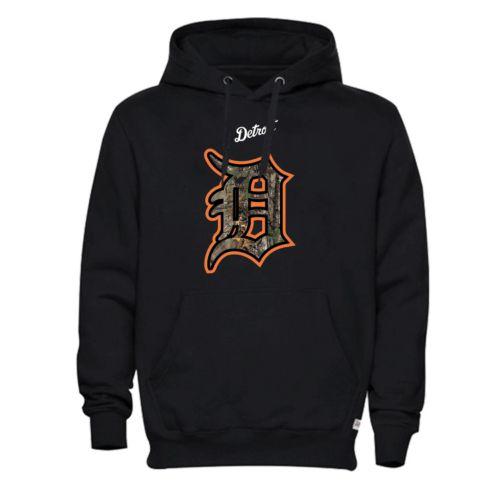 Men's Detroit Tigers Realtree Logo Hoodie