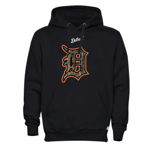 Men's Detroit Tigers Realtree Logo Hoodie
