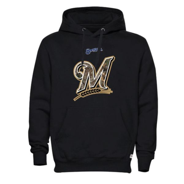 Men's Milwaukee Brewers Realtree Logo Hoodie