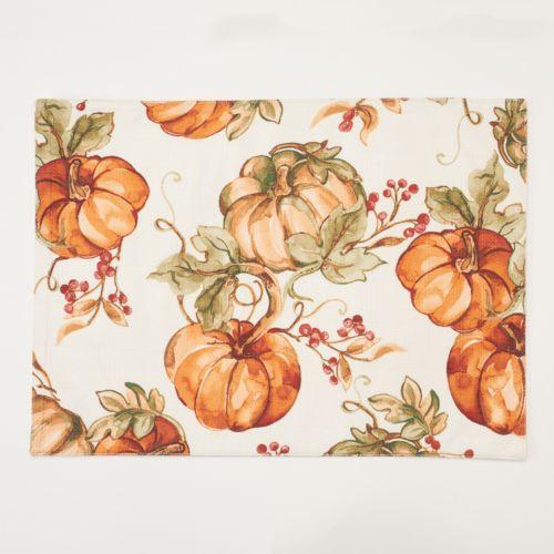 The Big One® Pumpkin 4-pc. Placemat Set