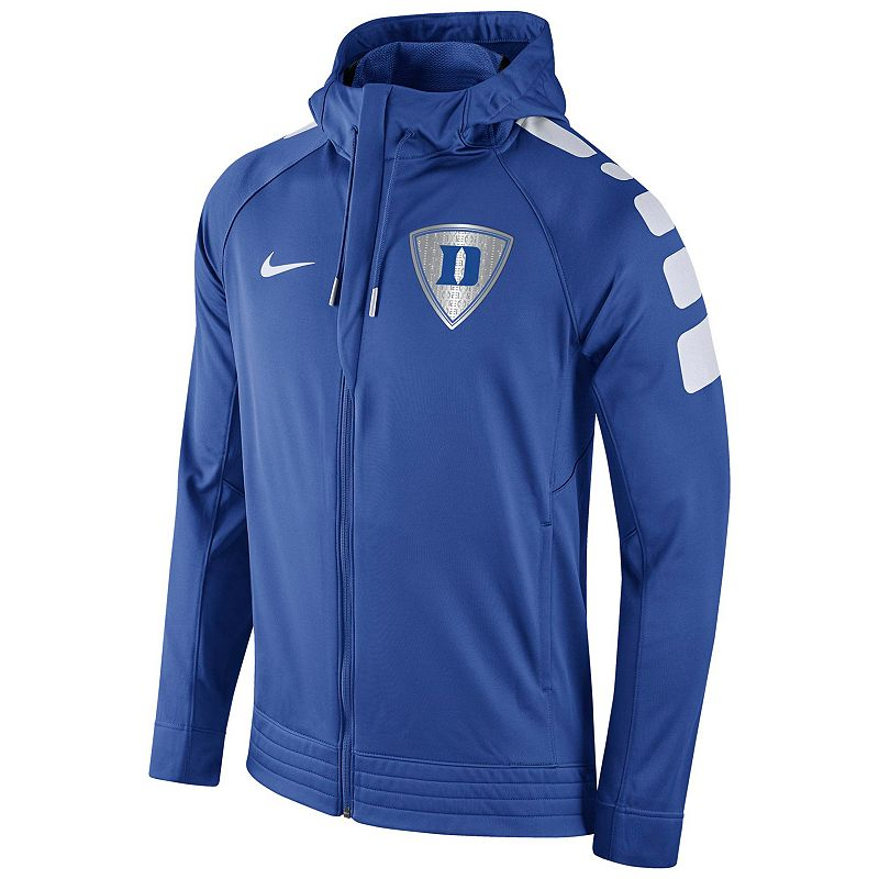Men's Nike Duke Blue Devils Elite Striped Hoodie