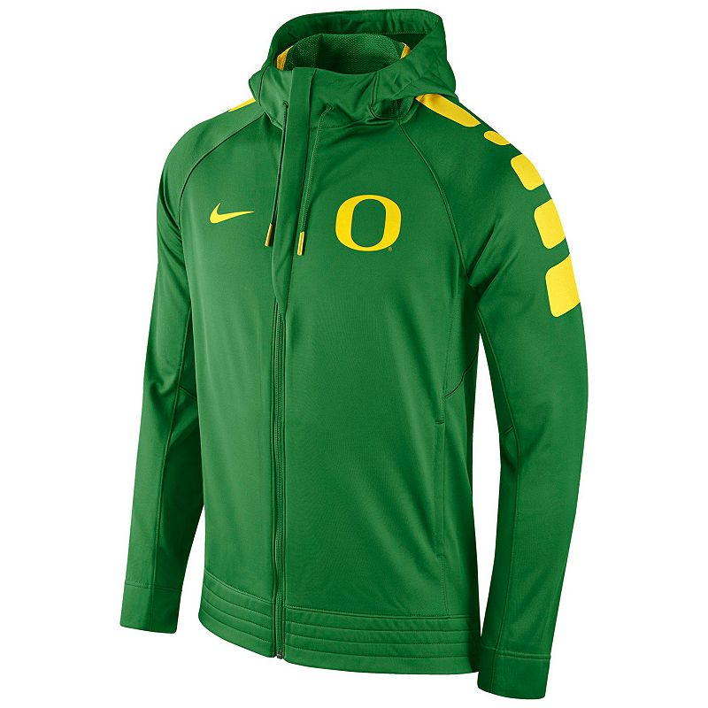Men's Nike Oregon Ducks Elite Striped Hoodie