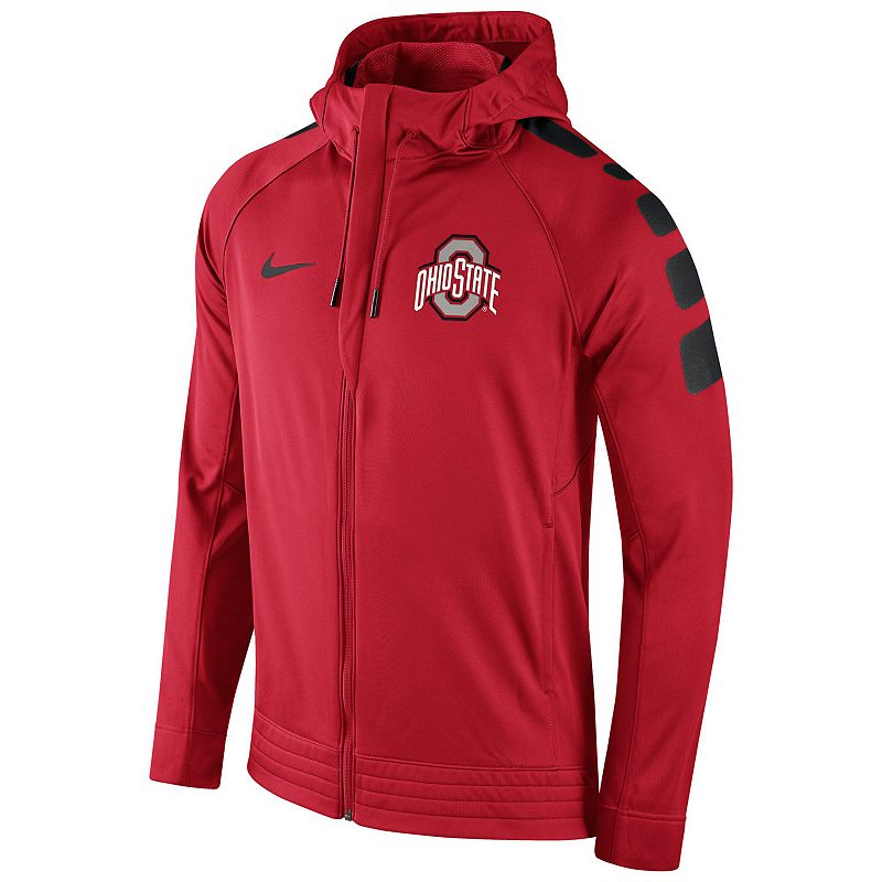 Men's Nike Ohio State Buckeyes Elite Striped Hoodie