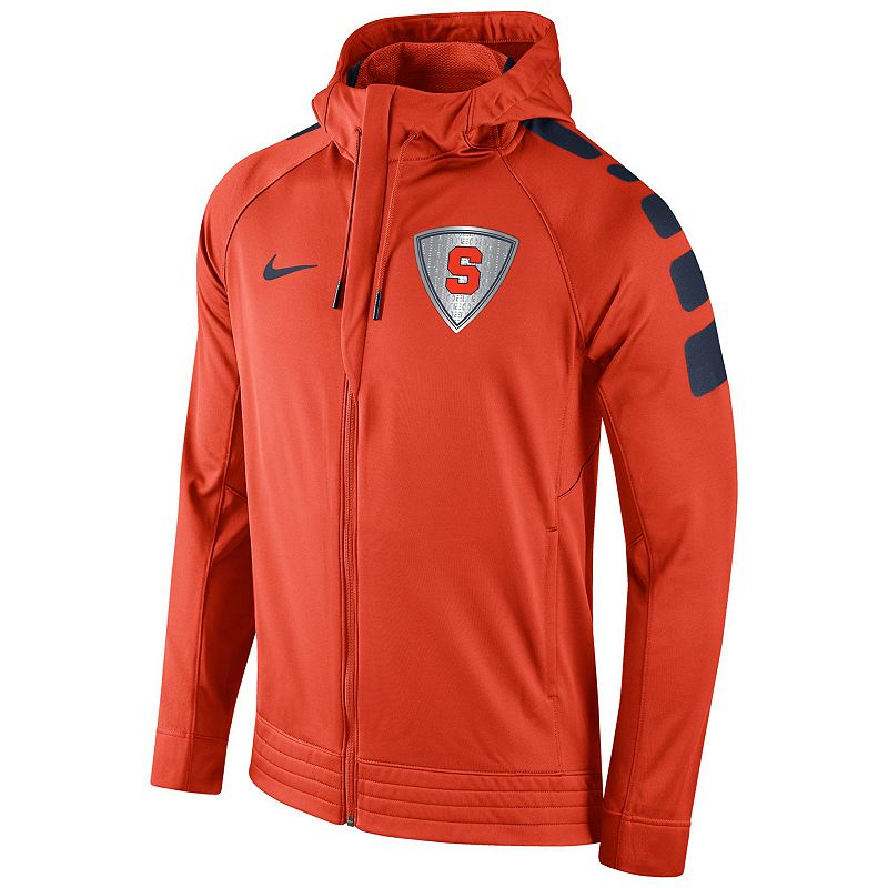 Men's Nike Syracuse Orange Elite Striped Hoodie